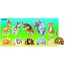 Vkládačka s úchopovými kolíčky - safari