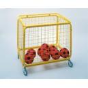Koš skládací pro 35/40 míčů 100x75x90 (míče nejsou součástí výrobku)